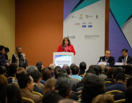 Nos Reportamos Listos Para Encarar El Reto Del Combate A La Corrupción: Presidenta Del TJA Guanajuato.