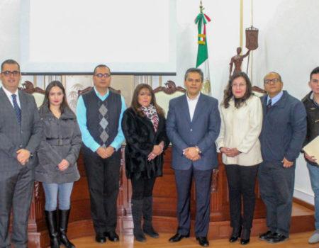 TJA Guanajuato, Referente A Nivel Nacional En La Implementación Del Juicio En Línea -Magistrados Del TJA Michoacán Visitan Sede Del TJA Guanajuato.