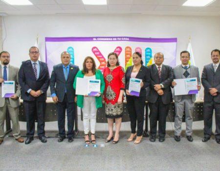 Recibe TJA Guanajuato Certificado De Firma Electrónica Del Congreso Del Estado De Guanajuato.