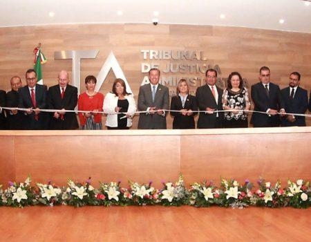 Entrega Del Nuevo Edificio Sede Del Tribunal De Justicia Administrativa Del Estado De Guanajuato.