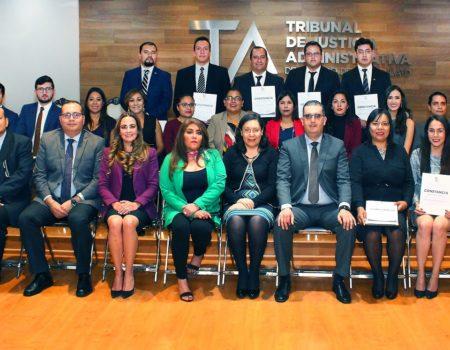 Concluye La Generación 2017-2018 Del Programa De Especialidad Y Maestría En Justicia Administrativa.